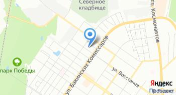 Свердловский областной Фонд гражданской защиты и пожарной безопасности на карте