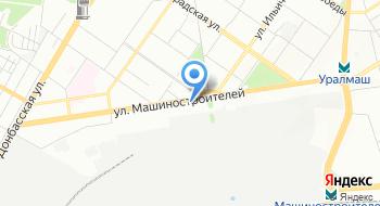 Альфа-Банк. Кредитно-кассовый офис Екатеринбург-Уралмаш на карте