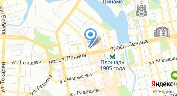 Управление по борьбе с экономическими преступлениями ГУ МВД России по Свердловской области на карте