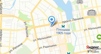 Свердловский следственный отдел на транспорте Уральское Следственное управление на транспорте Следственного комитета Российской Федерации на карте