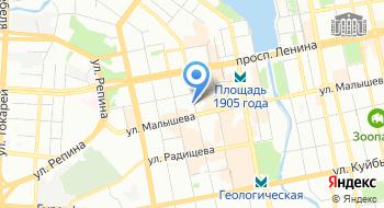 Уральский финансовый холдинг на карте