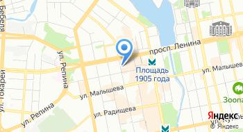Уральская транспортная прокуратура на карте