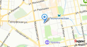 МАОУ Лицей №173 на карте