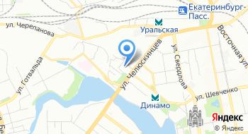 Свердловская железная дорога, филиал РЖД на карте