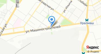 Завод Уралмаш на карте