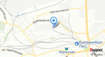 Евротек-Урал на карте