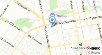 Свердловский-государственный центр агрохимической службы на карте