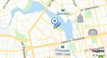 Избирательная комиссия Свердловской области на карте