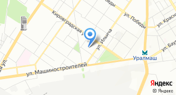 Скуз МСЧ № 66 Гуфсин России по Свердловской области на карте