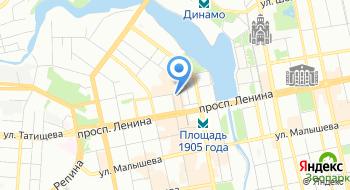 Уральский центр международного образования на карте