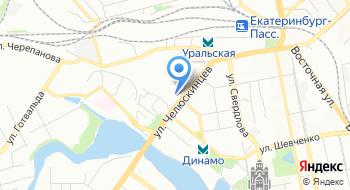 ЕИВЦ на карте