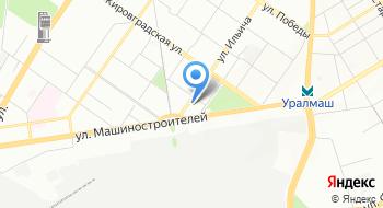 Орджоникидзевский РОСП г.Екатеринбурга на карте