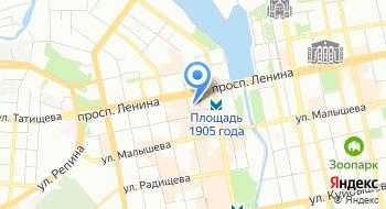 Пассаж на карте