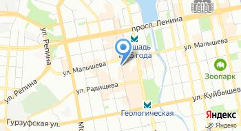 УПФР в Ленинском районе г. Екатеринбурга на карте