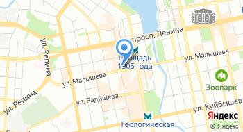 Ленинский РОСП г.Екатеринбурга на карте