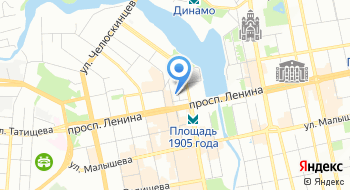 ЕМУП Екатеринбургский метрополитен, управление на карте