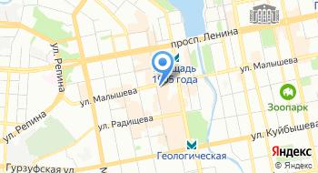 Студия Ералаш Екатеринбург на карте