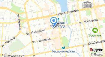 Университет Синергия на карте