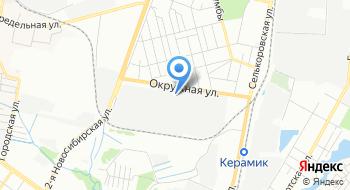 Конечная станция Керамическая на карте