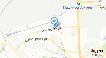 Алюмформ на карте