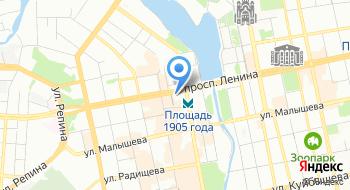 Комитет по внешним связям Администрации г. Екатеринбурга на карте