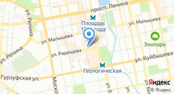 А+1 на карте