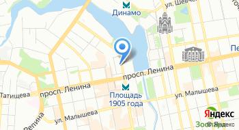 Уралсибмастер на карте