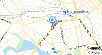 Всероссийский научно-исследовательский институт железнодорожного транспорта Уральское отделение на карте