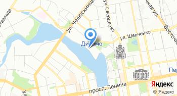 Стадион Динамо Каток на карте