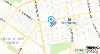 Амбулатория Уральского ГУ Банка России на карте