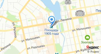 Отдел по делам архивов Администрации города Екатеринбурга на карте