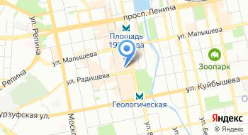 ПТК Рельс комплект на карте
