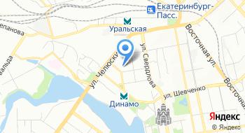 Уральское Территориальное управление Федерального Агентства Железнодорожного Транспорта на карте
