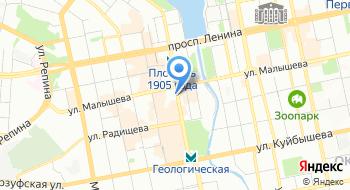 Концерн Росграфит на карте