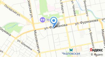 Отдел адресно-справочной работы УФМС России по Свердловской области на карте
