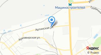 Уралтурбо на карте