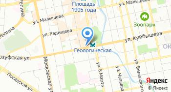 Завод Уралгеофизприбор на карте