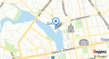 Свердловская областная организация Общественное государственное объединение Всероссийское физкультурно-спортивное общество Динамо на карте