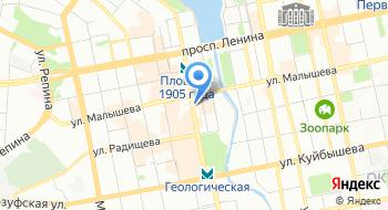 Управляющая компания Екатеринбург-Европа-Азия на карте
