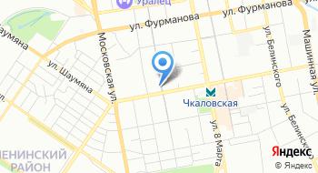 Салон оптики Очки на карте