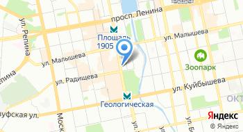 Ассоциация народов Урала на карте