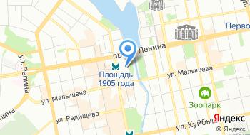 МБУ Информационно-методический центр Екатеринбургский Дом учителя на карте