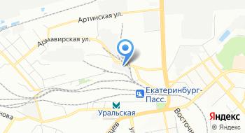 УФП Екатеринбург на карте