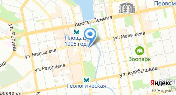 Прокуратура Ленинского района г. Екатеринбурга на карте