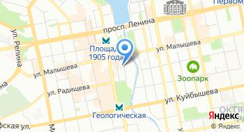 Полиграфия Альфа на карте