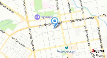 УМВД России по городу Екатеринбургу на карте