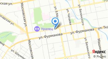 Ювэкс-Ружьев на карте