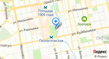 Дендрологический Парк-выставка на карте