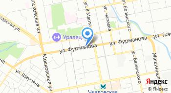 Управление федерального казначейства по Свердловской области на карте