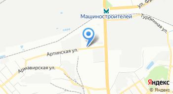 Уралснабсбыт на карте